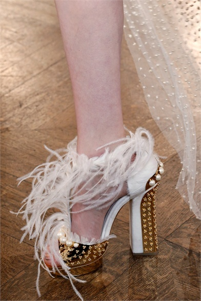 Sfilata Alexander McQueen Paris - Collezioni Autunno Inverno 2013-14 - Vogue