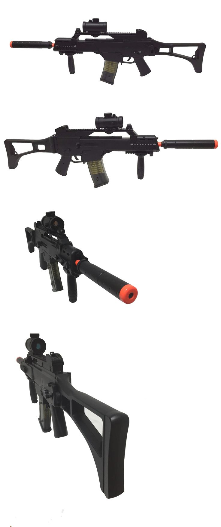 BBs 31682: M85 G36 Double Eagle Electric Airsoft Rifle Bb Gun With Attachments -> BUY IT NOW ONLY: $44.99 on eBay!