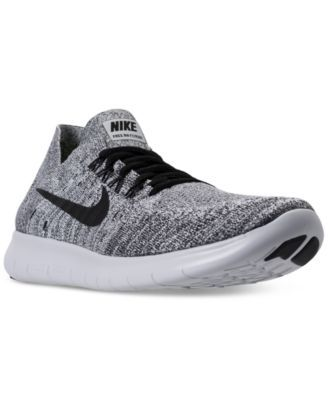 Nike Men's Free Run Flyknit 2017 Running Sneakers from Finish Line