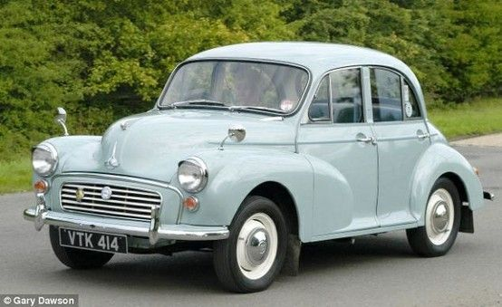 Size doesn't matter: Original Mini named greatest car ever built in Britain over…