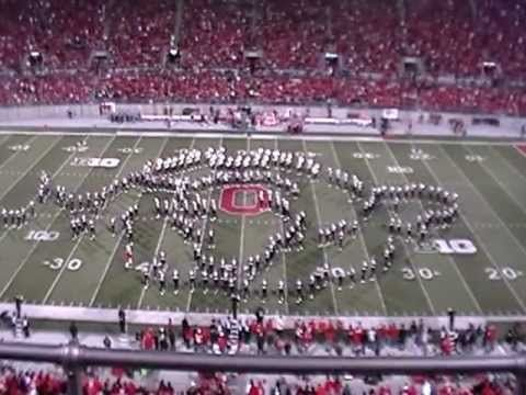 Awesome! The Ohio State University Marching Band buts on a video game themed half time show. At the very least, watch at 5:50!