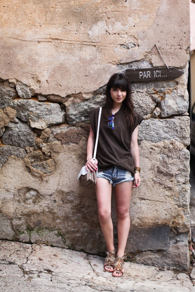 Shorts di jeans dal Blog di Betty