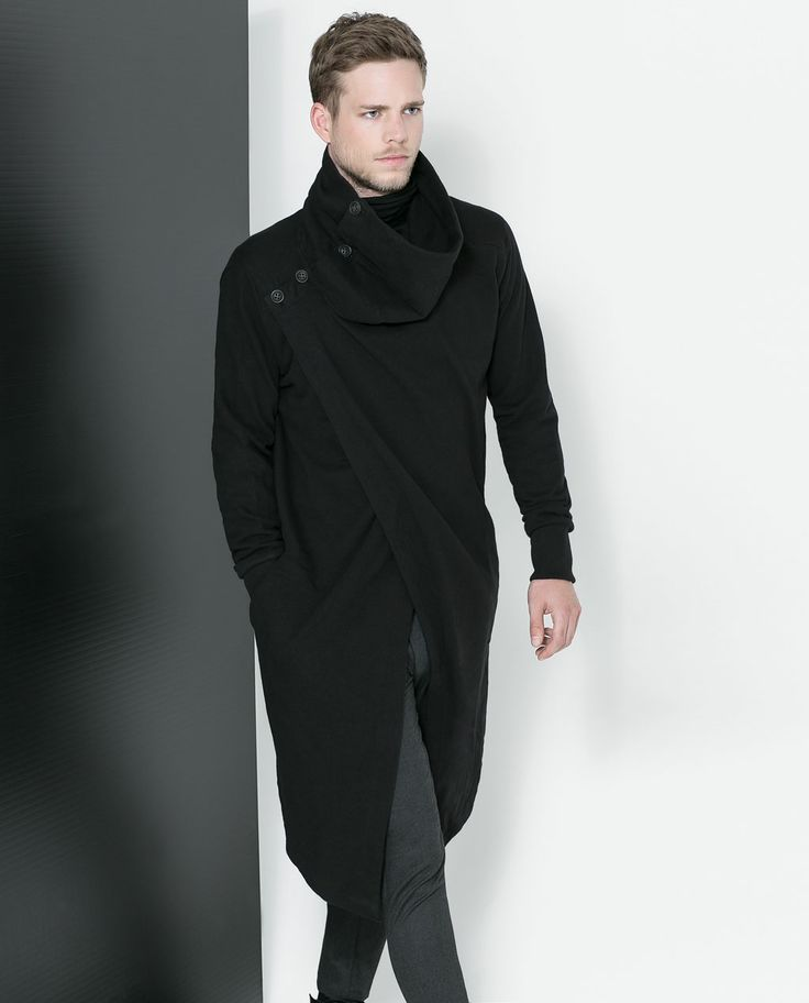 ZARA - MAN - CROSSOVER CAPE JACKET | Winter Too. | Pinterest | Zara Man Zara And Jackets