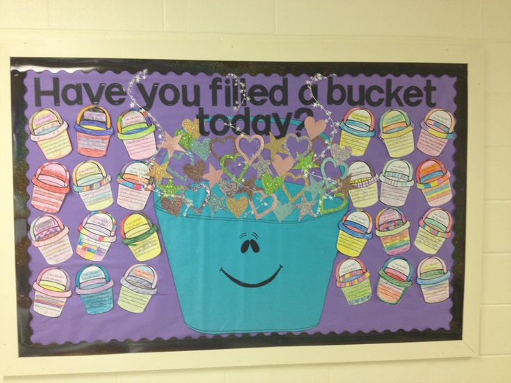 bucket fillers display - Google Search