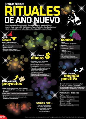 20151231 Infografia Rituales De Año Nuevo Para La Suerte @Candidman
