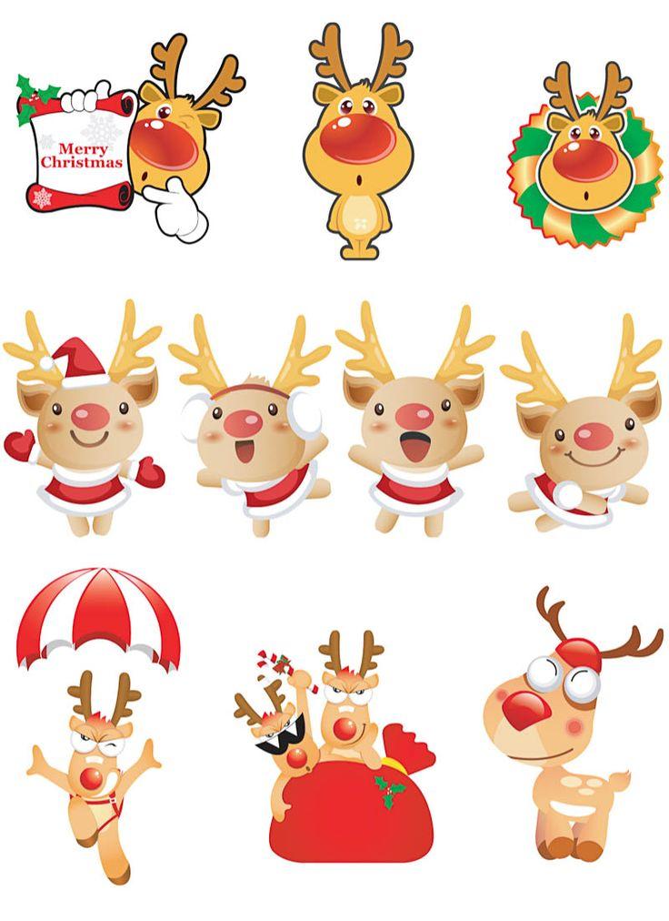 Best 25 Cartoon reindeer ideas on Pinterest  Rudolph cartoon