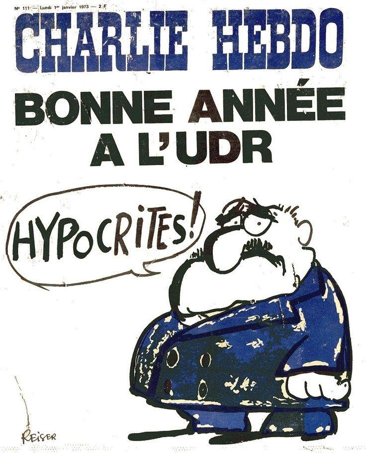 Charlie Hebdo - # 111 - 1er Janvier 1973 - Couverture : Reiser