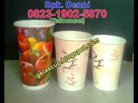Gelas Es Teh, Supplier Gelas Kertas, Jual Paper Cup Malang.  Info Harga dan Pemesanan : Bpk. Denni 0823 1902 5870 (Telkomsel)