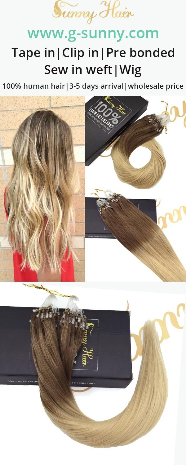47 best sunny hair micro ring loop human hair extensions images on micro ring human hair extension micro loop hair extension on sale pmusecretfo Image collections