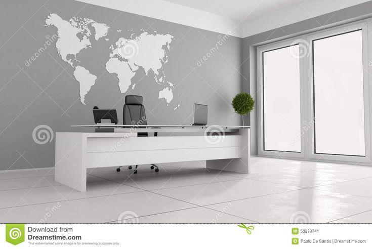 минималист офис Иллюстрация штока - изображение: 53278741