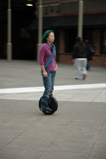 The Solowheel electric unicycle from Inventist