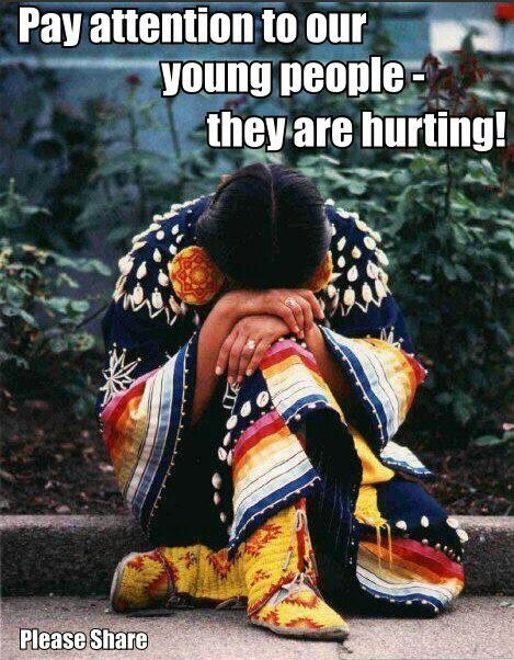 Think, Native american teen suicide
