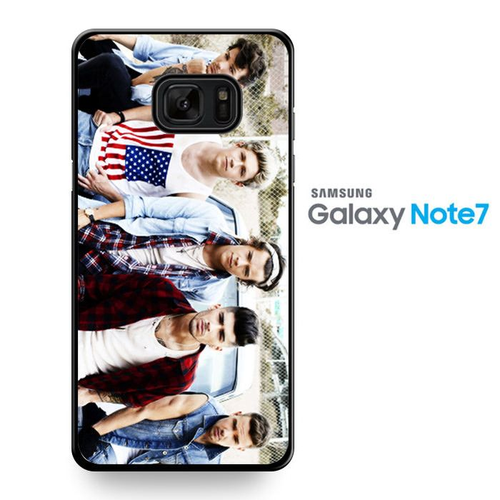One Direction Cool Photo Magazine 21 TATUM-8212 Samsung Phonecase Cover For Samsung Galaxy Note 7