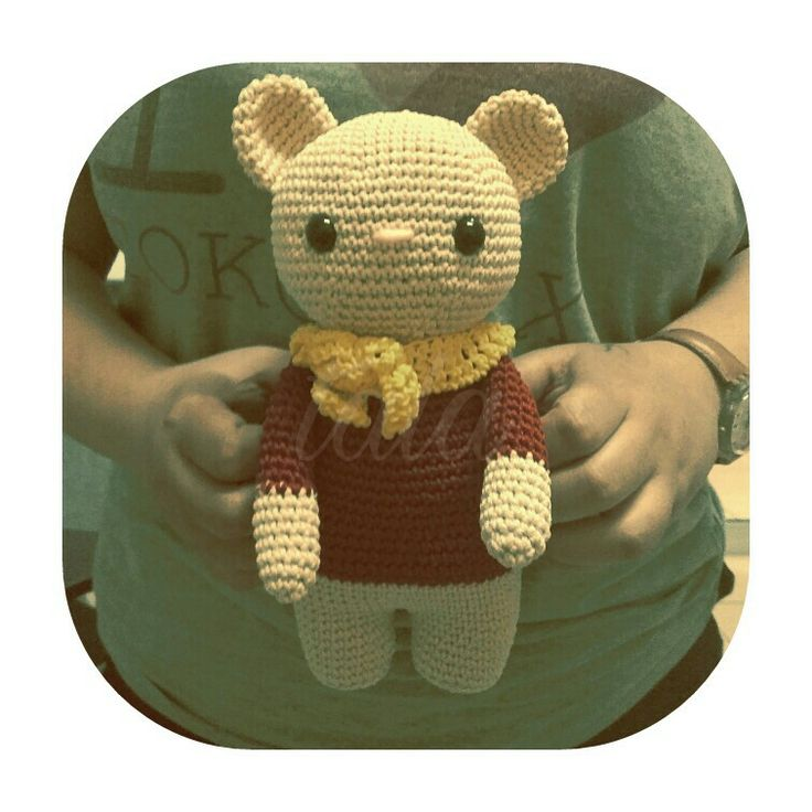 big bear amigurumi
