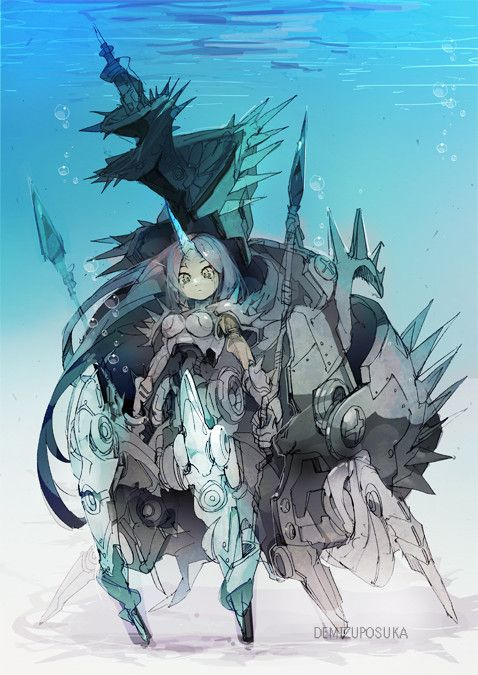 12 Best Images About Anime Underwater On Pinterest