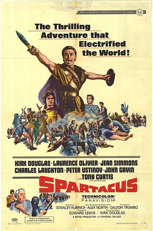 Spartacus Movie 1960 | Produced by Edward Lewis