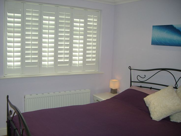 Bedroom white #Shutters