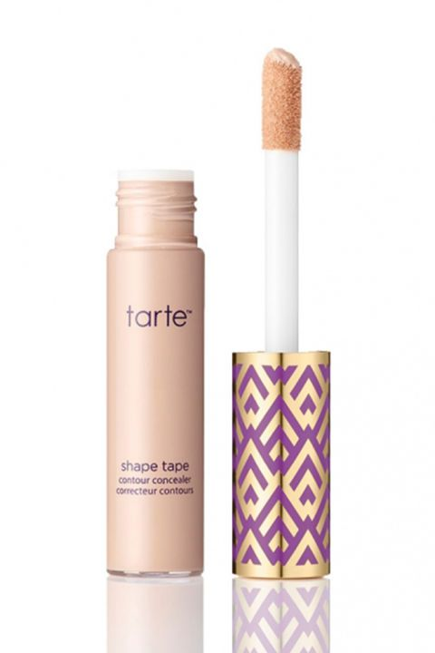 """""""Two different concealers I'd recommend for wedding-day wear are the tarte tape concealer, which gives really good coverage, without being too heavy, and the MAC Studio Finish concealer for spot treatment. However, try your best not to spot-conceal at all,"""" makeup artist, Julia Salvia advises""""because it actually makes makeup application look heavier.""""  Check out more of our favorite wedding makeup products!"""