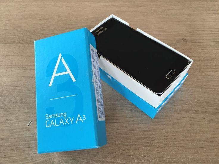 Samsung galaxy A3. 4 maand oud. Winkelprijs 267,00€ In perfecte staat. #samsung #galaxy #a3