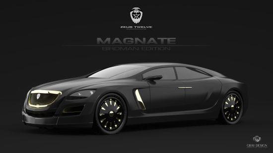 Gray Design's Zeus Twelve designs Magnate