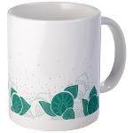 flower green Mug