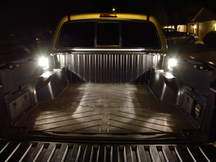 How to: Bed Lights w/Tailgate Pin Switch - Tacoma World Forums
