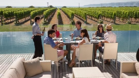 Head to Elephant Hill Winery & Restaurant for a beautiful gourmet dining experience. http://www.elephanthill.co.nz/
