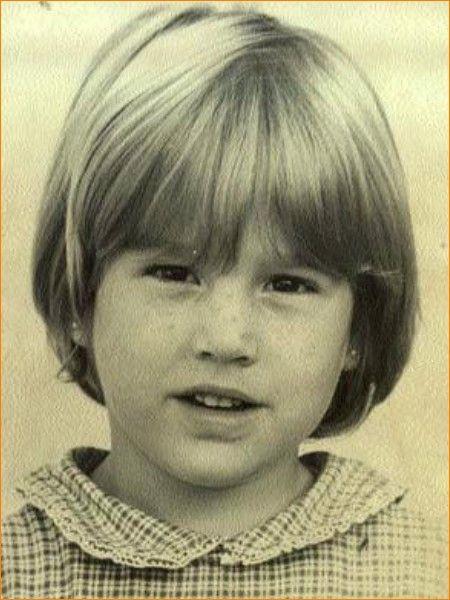 Prinses Máxima op 4-jarige leeftijd