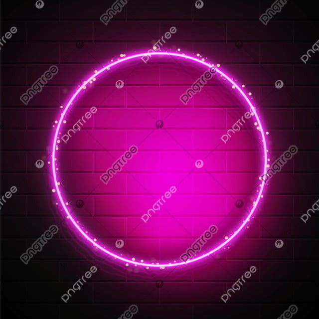 Abstract Neon Light Border With Sparks Neon Neon Lighting Neon Backgrounds