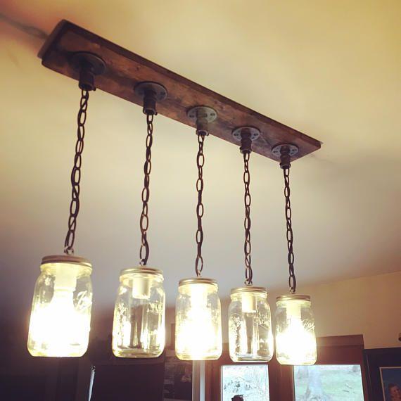 Rustic Industrial Modern Handmade Mason Jar Chandelier Rustic: 1662 Best Rustic Industrial Modern Home Decor Ideas