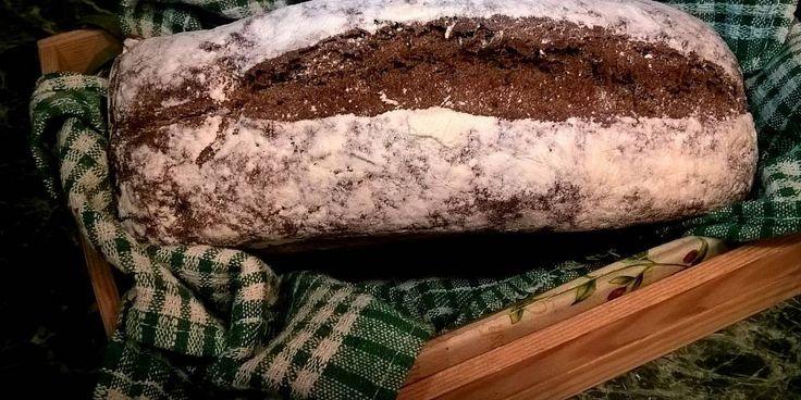Выпекаем дома ржаной деревенский хлеб