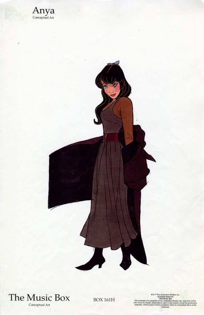 """""""Anastasia"""" by Don Bluth*  • Blog/Website   (www.donbluthanimation.com)  • Online Store   (http://www.donbluthanimation.com/index.php?act=viewCat)  ★    CHARACTER DESIGN REFERENCES™ (https://www.facebook.com/CharacterDesignReferences & https://www.pinterest.com/characterdesigh) • Love Character Design? Join the #CDChallenge (link→ https://www.facebook.com/groups/CharacterDesignChallenge) Share your unique vision of a theme, promote your art in a community of over 50.000 artists!    ★"""