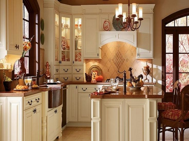 Unique Thomasville Cabinets Amaretto Cream With Alder Within Intended For