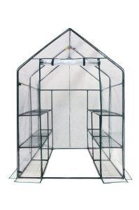 Walk in Mini Greenhouse does a great job all year round at protecting your plants, and raising new seedlings in the Spring.  Click the image or website link to find out more now!
