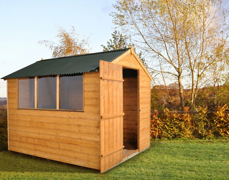 Storage buildings kits 8x6 garden shed shiplap for Garden shed repair parts