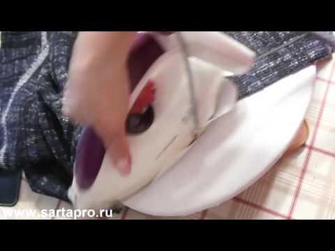 Светлана Пояркова: Обработка швов на рыхлой ткани - YouTube