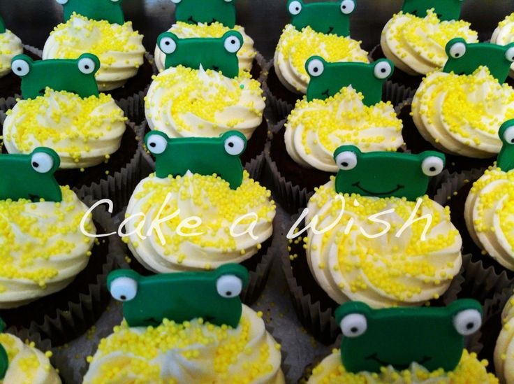 #frog #cupcakes
