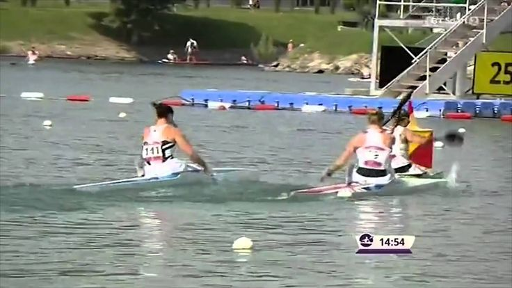 An impressive 5000m race from Lani Belcher in the K1 5000m race, seeing her finish in second place gaining Team GB their first Silver Medal.