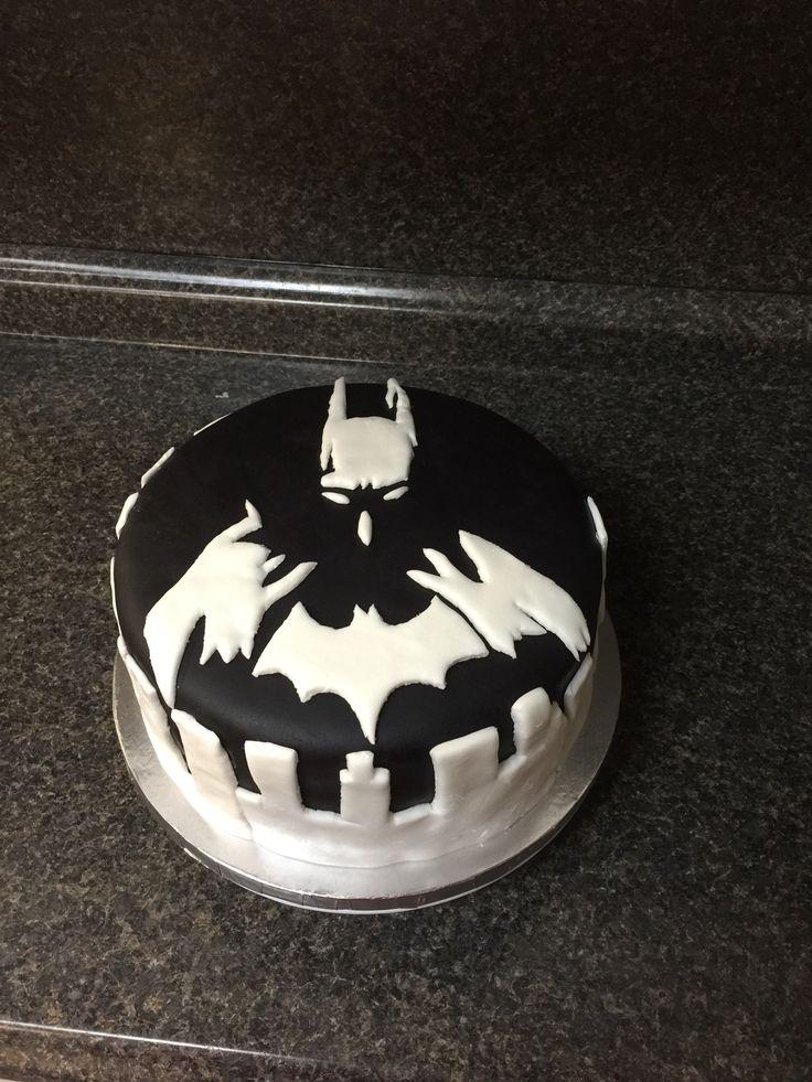 My Cousin S 16th Birthday Batman Cake Black Amp White