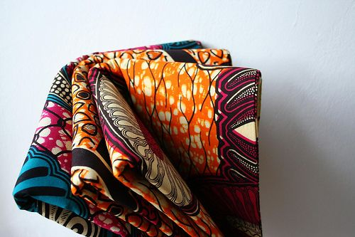 Capulana, a traditional colorful fabric used by women in Mozambique. Can be used for whatever you want, from clothing to cushions and curtains...