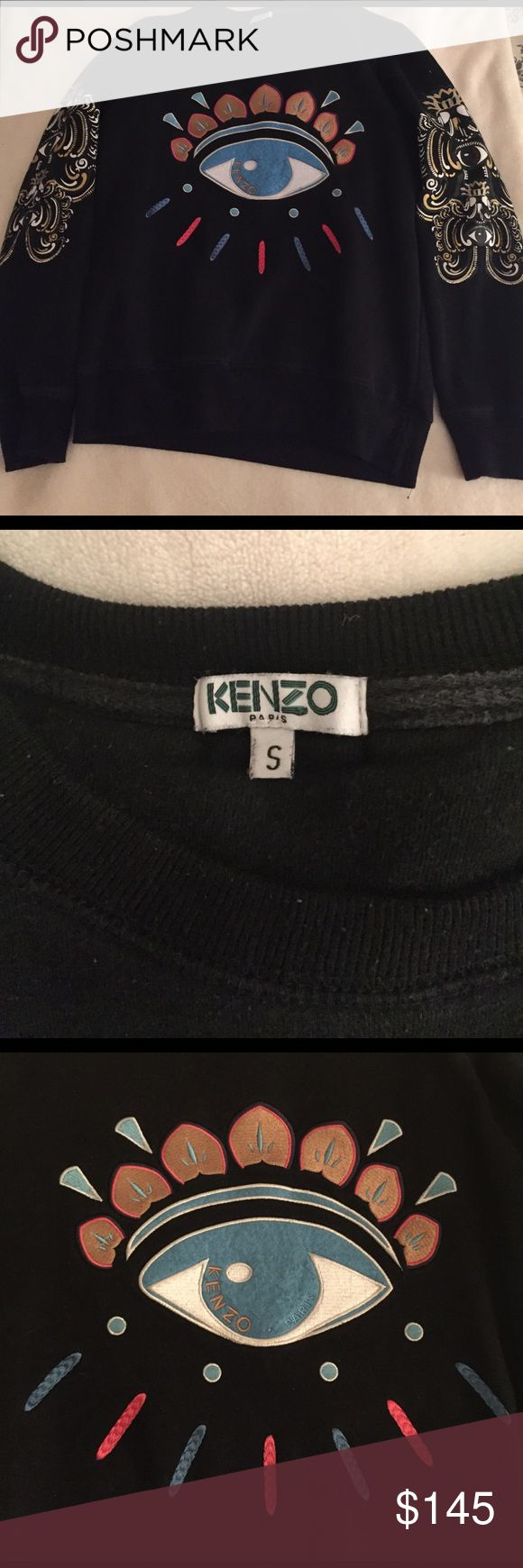 KENZO jumper Slight wear, but still great condition! Authentic. Kenzo Tops Sweatshirts & Hoodies