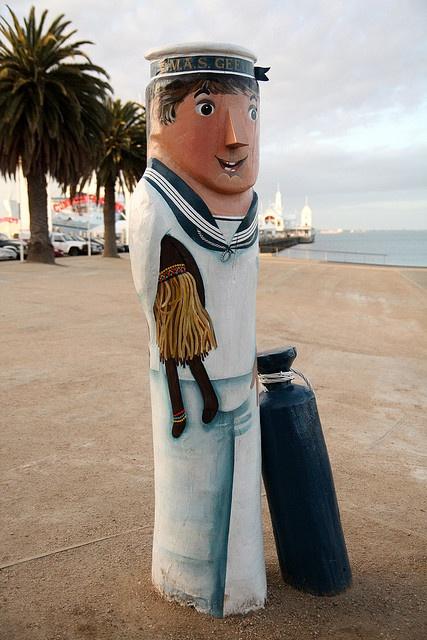 Sailor at Geelong Victoria Australia