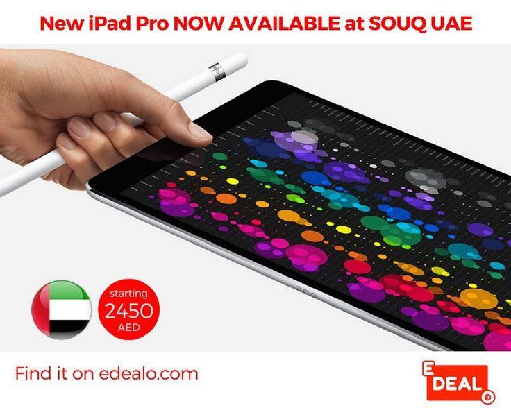 New Apple iPad Pro NOW AVAILABLE at Souq UAE. SHOP NOW via edealo.com  #dubai #uae #abudhabi #mydubai #sharjah #dubai #uaeblog #dubaitag #dubailife #uaeflag #dxb #dubaimall #dubaifashion #dubai #uaeblogger #dubaimarina #ueashop #emirates #dubaistyle #dubaimoms #dubaiblogger #ipadpro #ipadproart #digitalart #ipadprodigitalsketchbook #illustration #digitalsketch