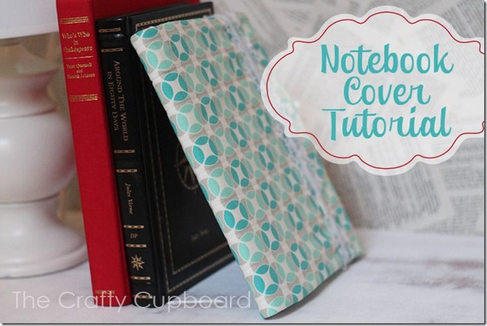 Tutorial Notebook Cover : Fabric notebook cover tutorial for standard composition