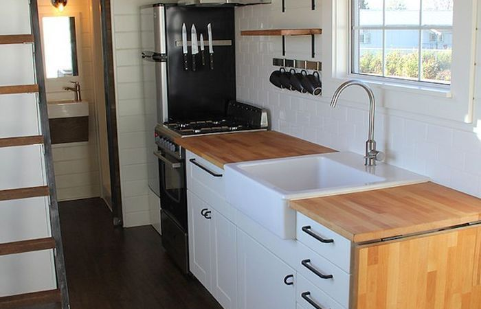Image Result For Tiny House Kitchen Sink Small House Kitchen Design Kitchen Design Small House Design Kitchen