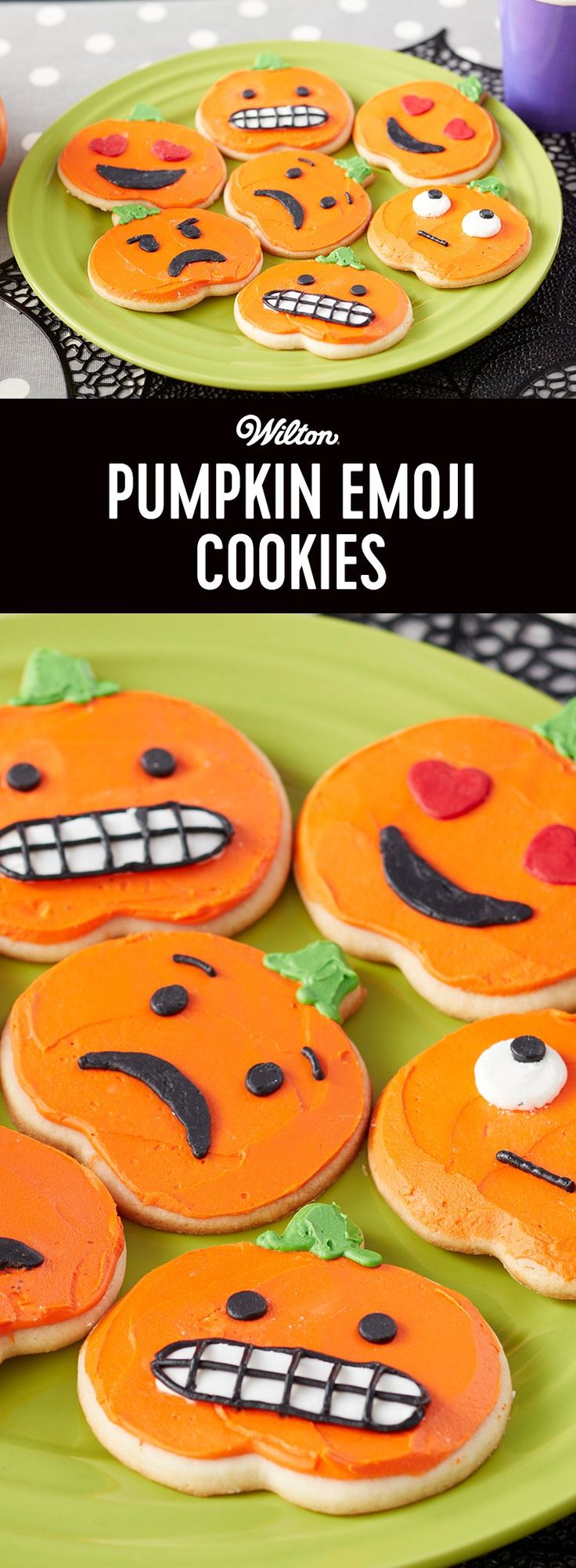 Easter eggs basket coloring pages thefairs - Pumpkin Emoji Cookies Forget Carving Pumpkins This Year With These Pumpkin Emoji Cookies You Can Make Your Pumpkin As Expressive As You D Like