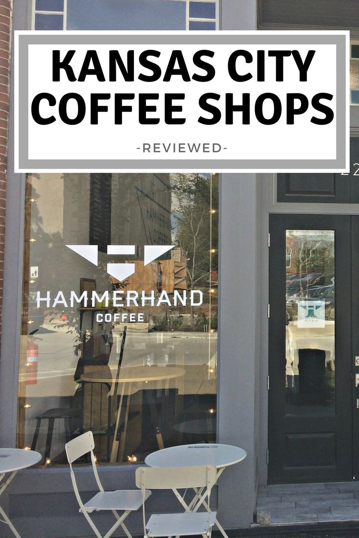 Hammerhand Coffee Co is an impressive local coffee shop in Liberty MO, with great coffee and an inspiring start-up story!  I had their espresso and it was SO creamy and delicious.