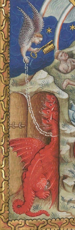 Bibliothèque nationale de France, Néerlandais 3, detail of f. 18r