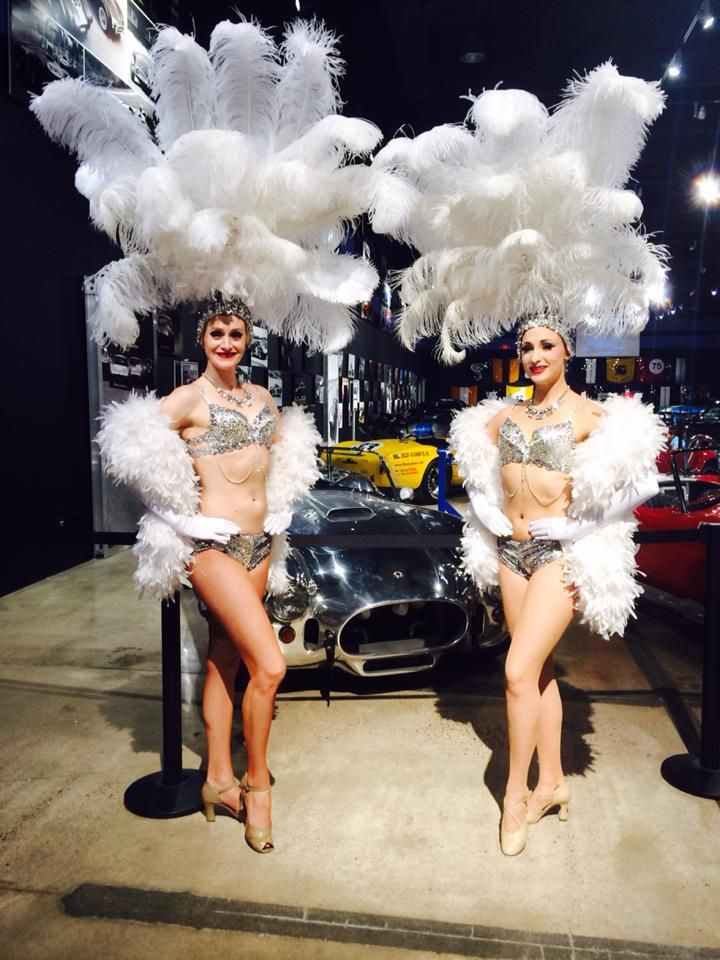 Las Vegas Showgirls Stunning Silver Showgirls Ford
