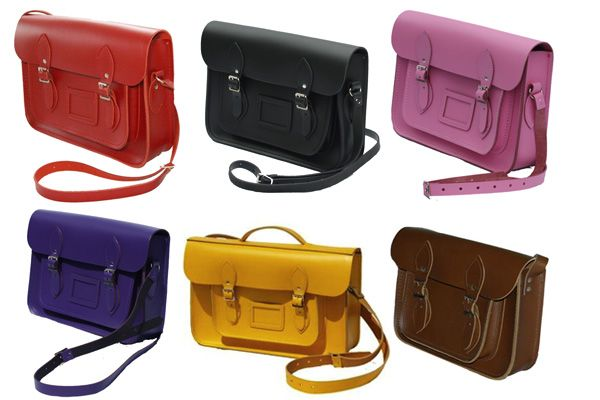 Stay Smart With Cambridge Satchel Company's Bright Leather Bags ...
